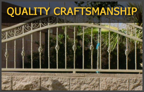 Free Estimates for Custom Wrought Iron Fences/Gates