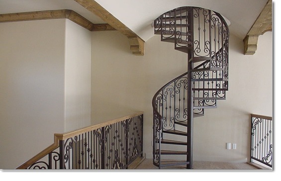 Custom Iron Spiral Staircases Boulder City NV