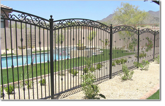 Decorative Pool Fences Las Vegas Nv Iron Pool Gates Las